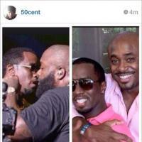 50 Cent suggère sur Instagram que P. Diddy et Rick Ross sont gays