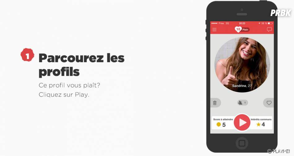 Application gratuite de rencontre