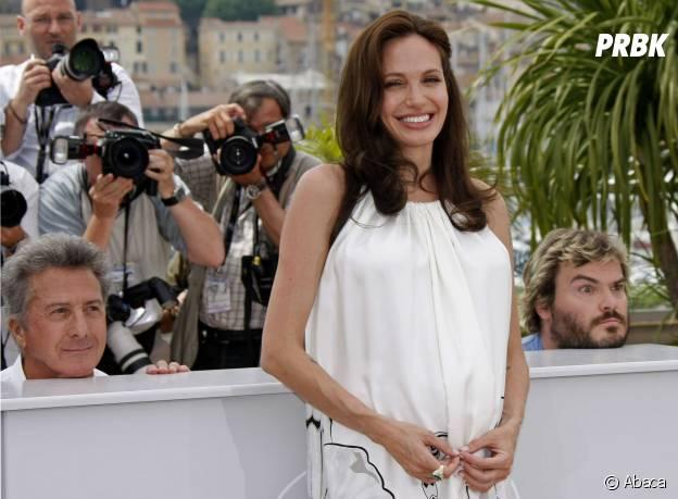 Angelina Jolie : photobomb de Dustin Hoffman et Jack Black au Festival de Cannes