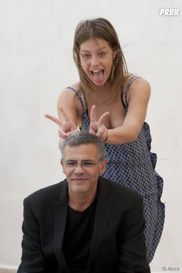Abdellatif Kechiche et Adèle Exarchopoulos au Festival de Cannes 2013