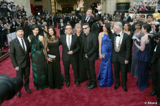 Le phénomène photobombing aux Oscars 2014 avec Benedict Cumberbect et U2