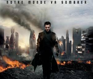 Benedict Cumberbatch sur une affiche de Star Trek Into Darkness