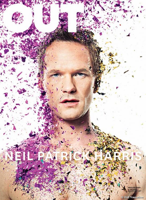 Neil Patrick Harris en couveture du magazine Out, il se confie sur son homosexualité