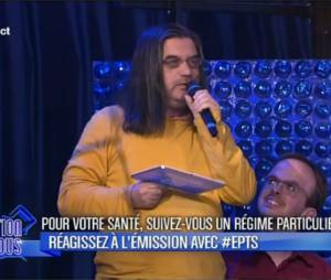 """L'émission pour tous perturbé mercredi 12 mars par Edouardo, une vieille star de la """"chanson"""""""