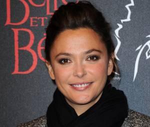 Sandrine Quétier à l'avant-première de la comédie musicale La Belle et la Bête, le 24 octobre 2013 à Paris