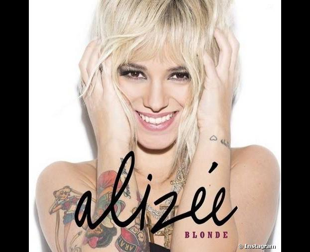 Alizée : la pochette du single 'Blonde', dévoilé le 18 mars 2014