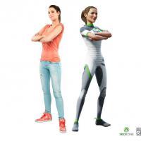 Laury Thilleman : égérie sexy et sportive de Kinect Sports Rival sur Xbox One