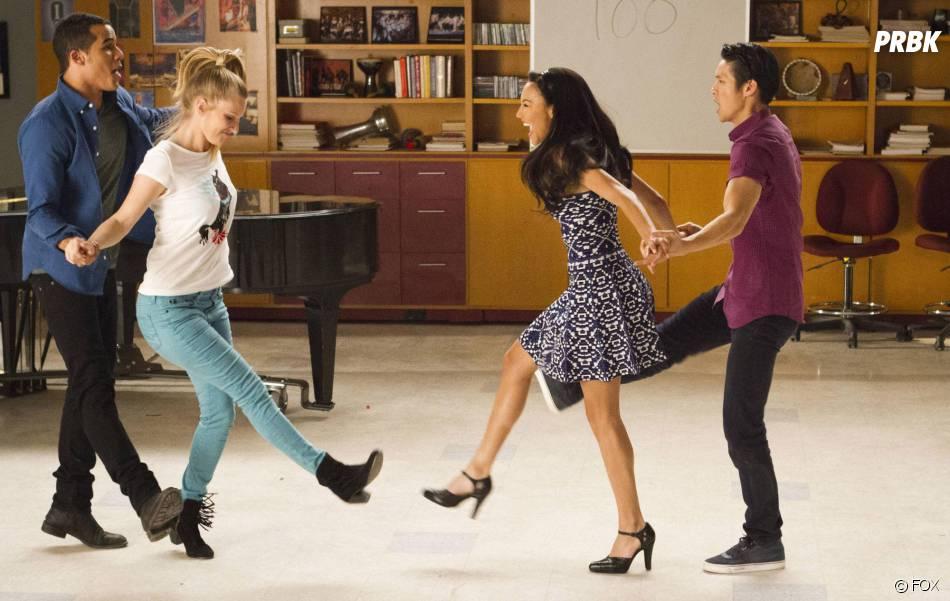 Glee saison 5 : Brittany et Santana se retrouvent dans l'épisode 100