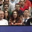 Cristiano Ronaldo et Irina Shayk en couple pour assister à un match de basketball à Madrid ce jeudi 20 mars