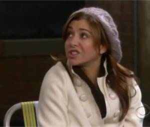 How I Met Your Mother, meilleurs moments de Lily : n°3, Lily fumeuse