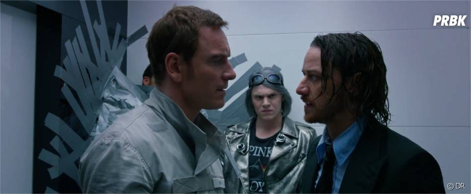 X-Men Days of Future Past : James McAvoy et Michael Fassbender dans la bande-annonce