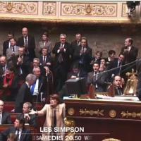 Les Simpson : l'Assemblée Nationale se bat pour... des épisodes inédits