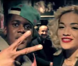 Black M et Rita Ora : R.I.P remix live au Showcase à Paris, novembre 2012