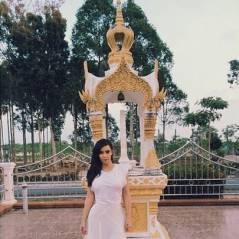 Kim Kardashian : selfie improbable et perturbé par... un éléphant