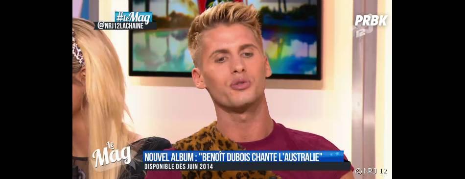 Benoît Dubois va chanter son premier single aux NRJ Music Awards