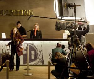 La ritournelle : Isabelle Hupert sur le tournage