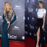 Shakira (sans culotte) VS Taylor Swift : qui était la plus sexy aux CMA 2014 ?