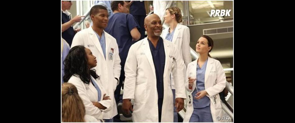 Grey's Anatomy saison 10, épisode 19 : James Pickens Jr, aka Richard, tout sourire