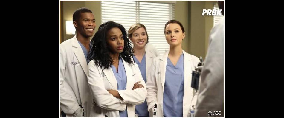 Grey's Anatomy saison 10, épisode 19 : photo promo avec Shane, Stephanie, Jo et Leah
