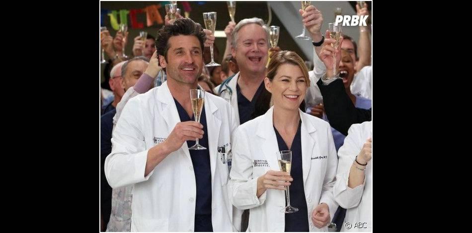Grey's Anatomy saison 10, épisode 19 : Derek et Meredith en mode champagne