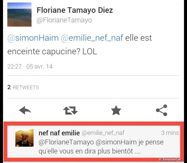 Le tweet d'Emile Nef Naf