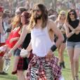 Jared Leto au 2e jour du festival de Coachella 2014, le 12 avril 2014