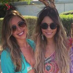 Vanessa Hudgens blonde, Kendall & Kylie Jenner en Morticia Addams... à Coachella