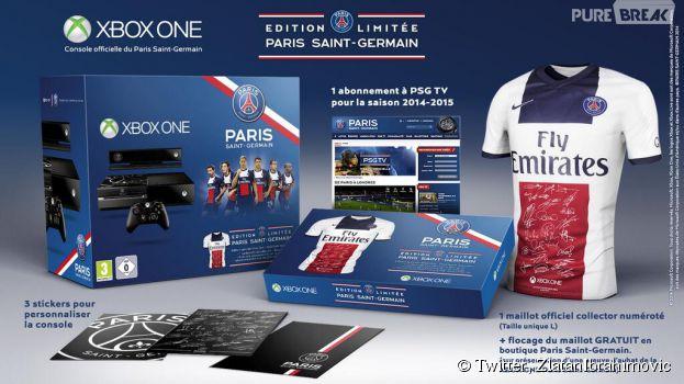 Xbox One : un bundle PSG en quantités limitées pour quelques supporters du club parisien