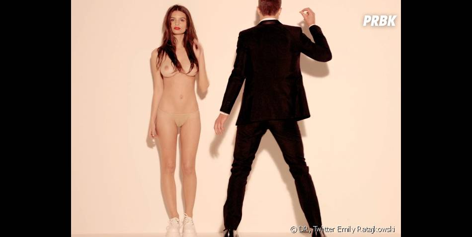 Emily Ratajkowski ultra sexy dans le clip de Blurred Lines