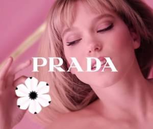 Léa Seydoux nue dans la dernière publicité du parfum Candy Florale de Prada