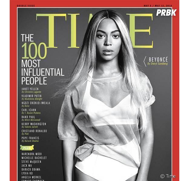 Beyoncé, personnalité la plus influente en 2014, en Une du numéro de mai du magazine Time
