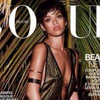 Rihanna : son shooting (encore) topless pour Vogue Brésil