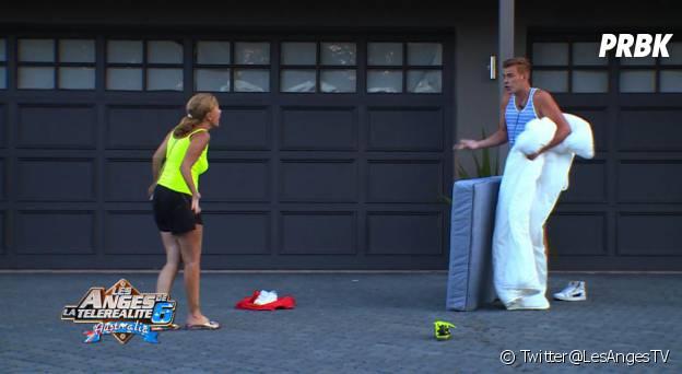 Les Anges 6 : clash entre Julien le blond et Linda
