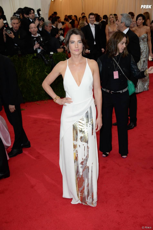 Cobie Smulders au MET Gala à New York le 5 mai 2014