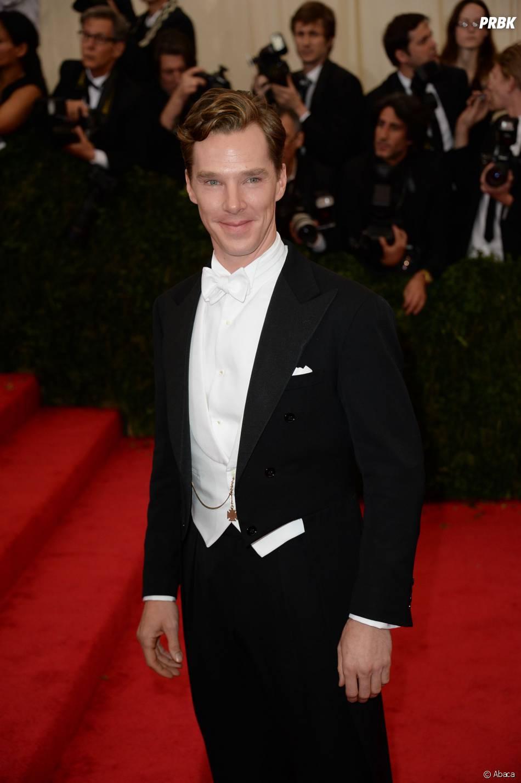 Benedict Cumberbatch au MET Gala à New York le 5 mai 2014