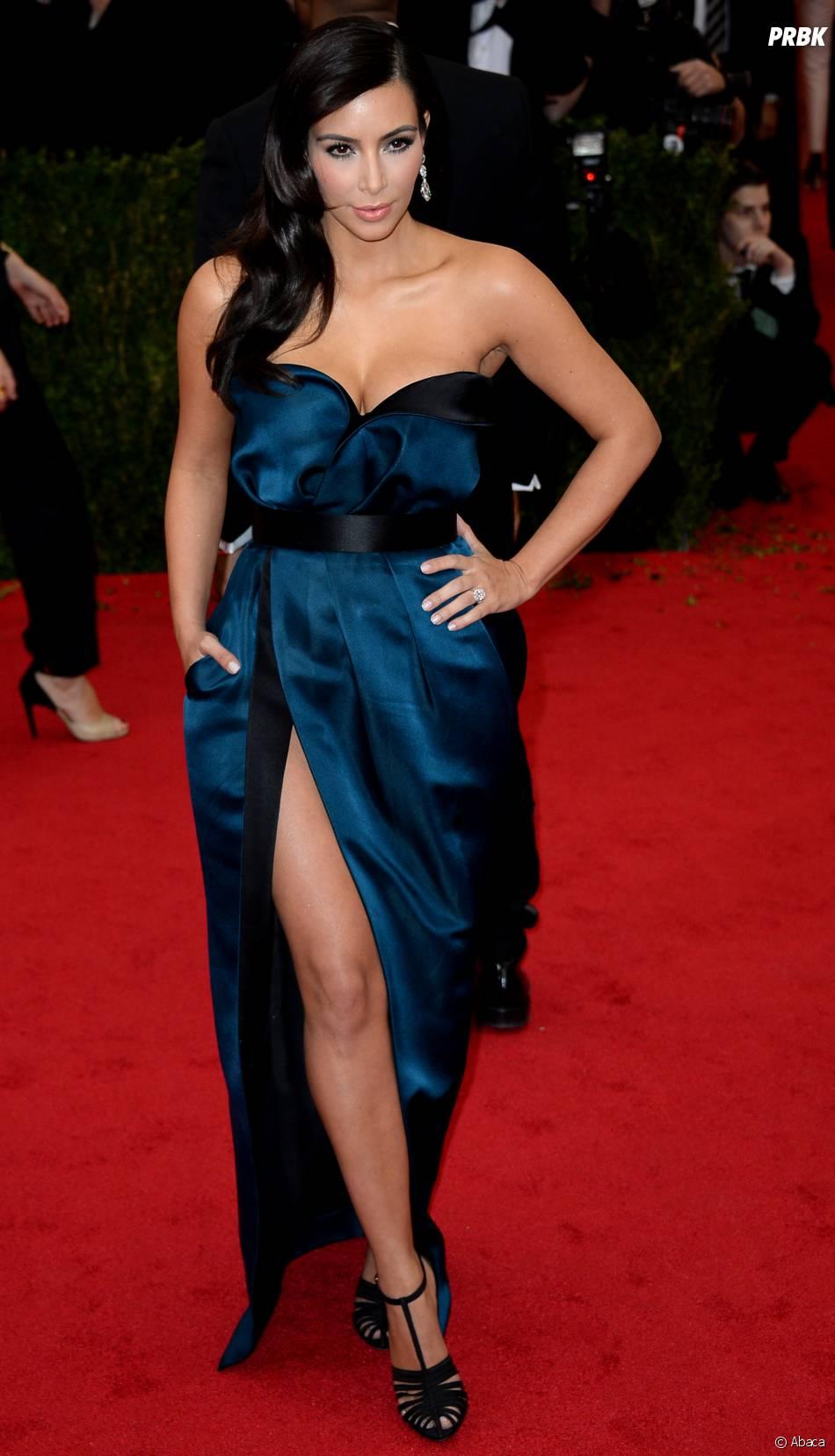 Kim Kardashian au MET Gala à New York le 5 mai 2014
