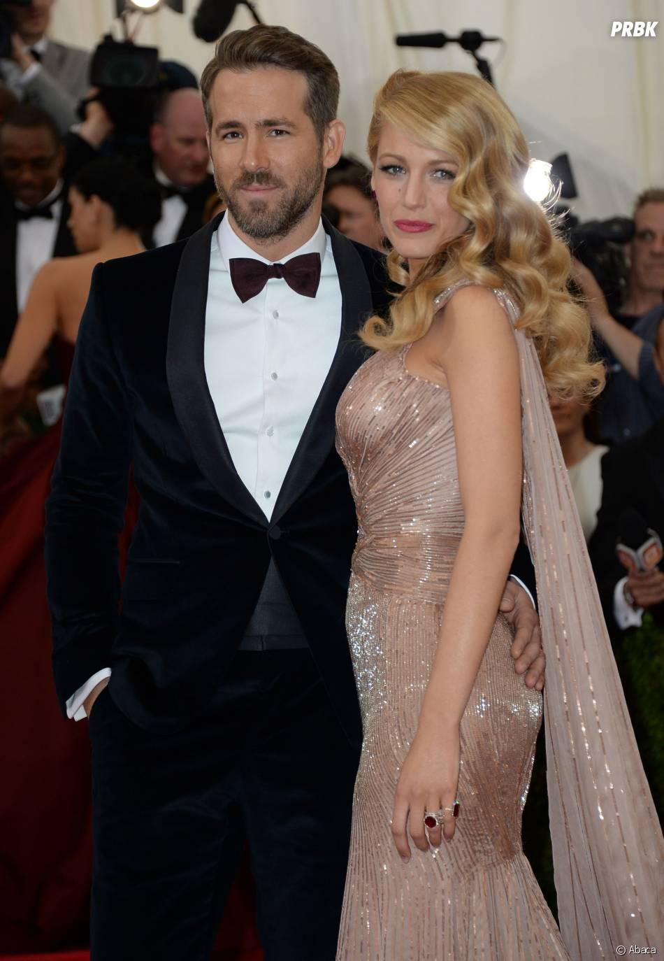 Ryan Reynolds et Blake Lively au MET Gala à New York le 5 mai 2014