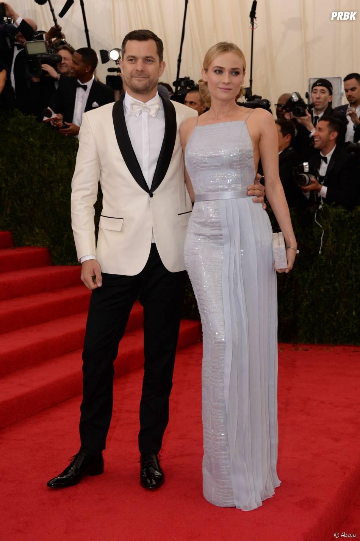 Joshua Jackson et Diane Kruger au MET Gala à New York le 5 mai 2014