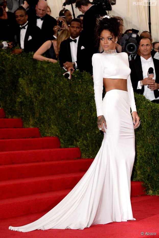 Rihanna au MET Gala à New York le 5 mai 2014