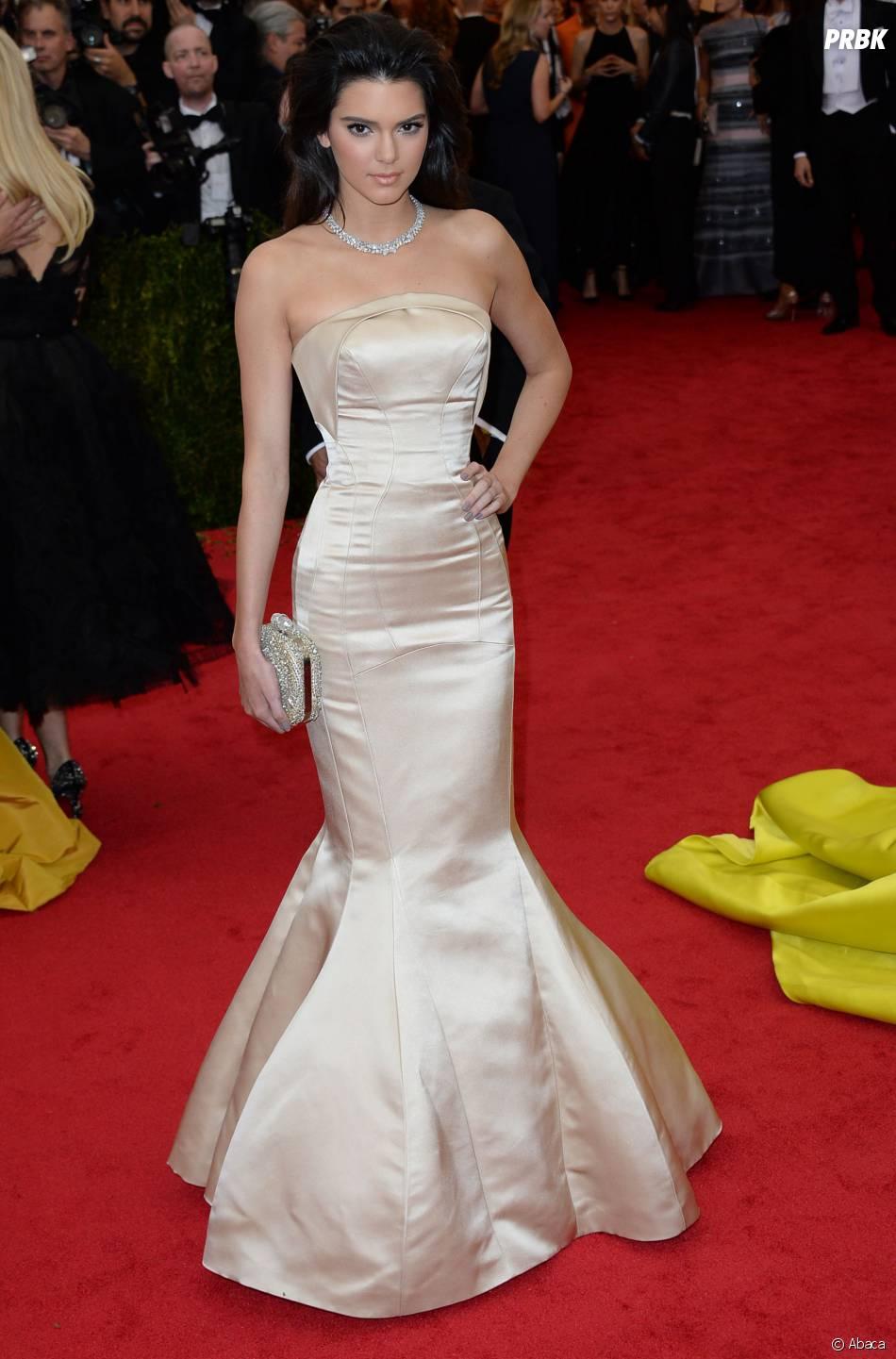 Kendall Jenner au MET Gala à New York le 5 mai 2014