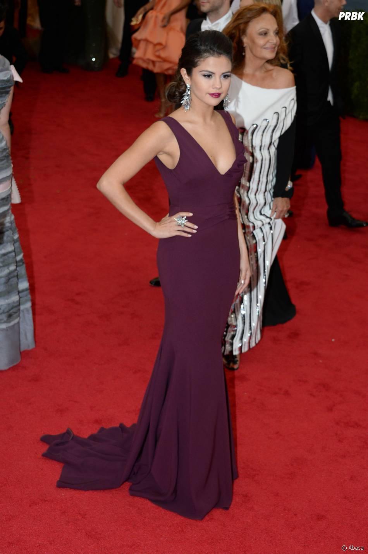 Selena Gomez au MET Gala à New York le 5 mai 2014