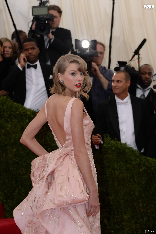 Taylor Swift au MET Gala à New York le 5 mai 2014