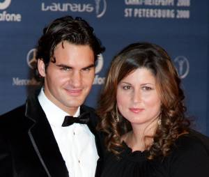 Roger Federer et sa femme Mirka aux Laureus World Sports Awards 2008