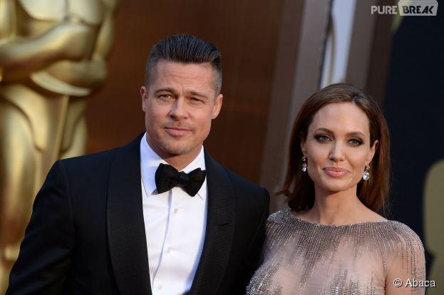 Angelina Jolie et Brad Pitt se sentent français