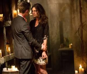 The Originals saison 1, épisode 22 : Hayley et Elijah sur une photo du final