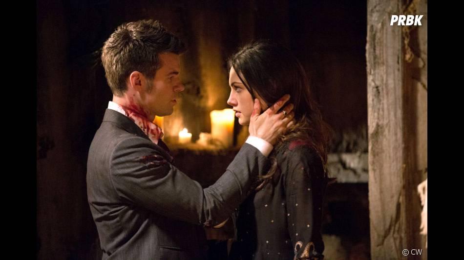 The Originals saison 1, épisode 22 : Daniel Gillies et Phoebe Tonkin sur une photo du final