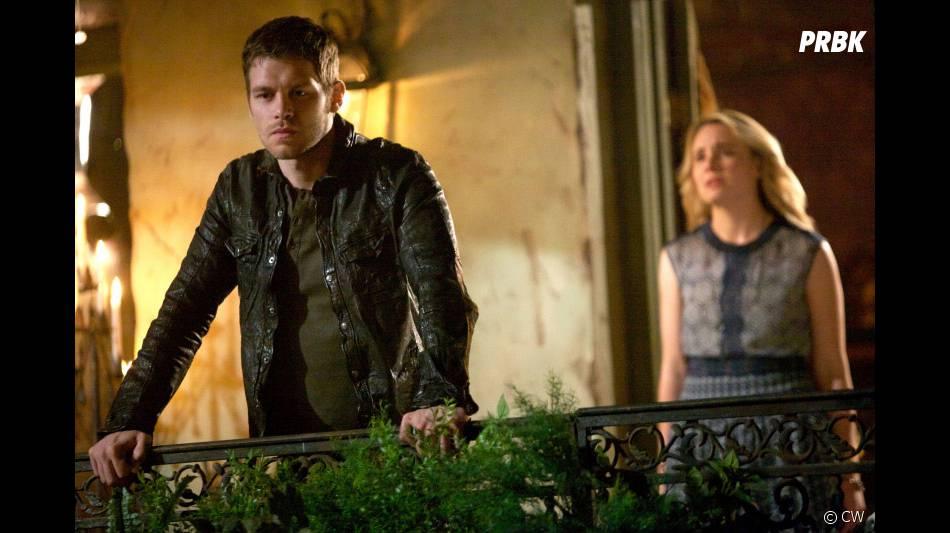 The Originals saison 1, épisode 22 : Leah Pipes et Joseph Morgan sur une photo du final