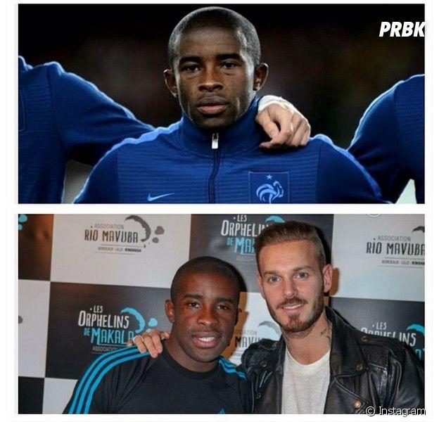 M. Pokora félicite son ami Rio Mavuba sur Instagram pour sa sélection avec les Bleus pour la Coupe du Monde 2014