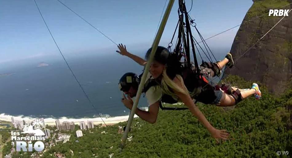 Les Marseillais à Rio : Jessica en deltaplane