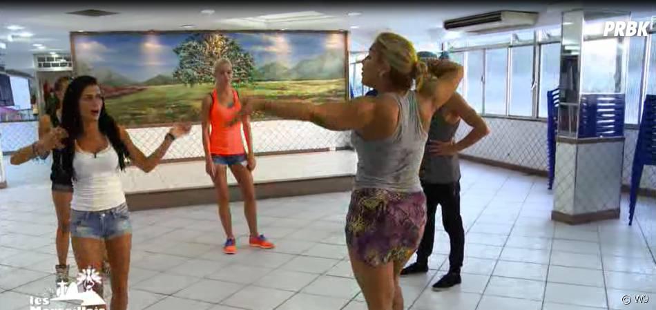 Les Marseillais à Rio : les candidats en cours de danse